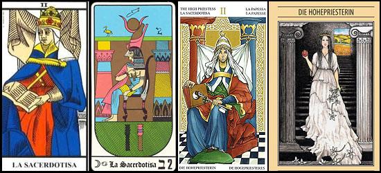 Tarot Papisa_Sacerdotisa #2 Papisa - Sacerdotisa arcanos mayores Tarot