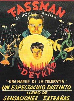 """Tarot fassman Hipnosis, el testimonio de Fassman, el hombre """"radar"""" Experiencias Terapias"""